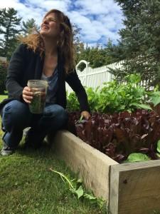 Ann at her Garden